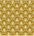 gold scale pattern embossed seamless luxury vector image