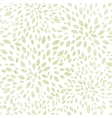 green leaves explosion textile seamless texture vector image