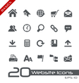 Website Internet Basics Series vector image