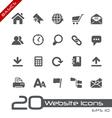 Website Internet Basics Series vector image