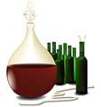 Wine making vector image