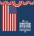 united states independence day national vector image