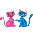 kittens vector image
