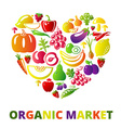 LoveOrganic vector image