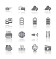 PC Mobile Interface Icon EPS10 vector image