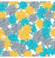 Medical seamless pattern with abstract viruses and vector image