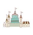A castle vector image vector image