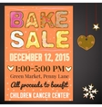 Winter Bake Sale vector image
