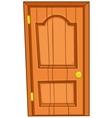 cartoon home door vector image vector image