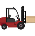 Loader car vector image