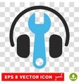 Headphones Tuning Eps Icon vector image