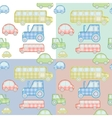 car pattern for kids vector image
