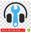 Headphones Tuning Eps Icon vector image