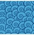 seamless pattern sea vector image