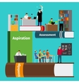 Books education infographics vector image