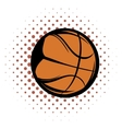 Basketball comics icon vector image