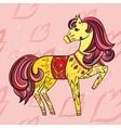 Ornamental Horse vector image