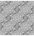 globe pattern vector image vector image