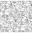 Graphic dolphin pattern vector image