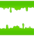 Green slime pattern vector image