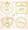 design wedding vector image vector image