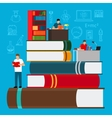 Education and study concept vector image