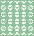 abstract seamless pattern mosaic of blooms vector image