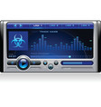 Mp3 media music player vector image