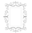 Vintage classic frame vector image