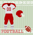 Sport uniform vector image
