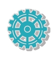 gear wheel team work isolated vector image