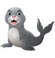 Seal cartoon vector image