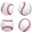 baseball balls vector image