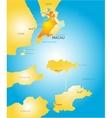 Macau vector image vector image