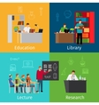 Education concepts vector image