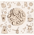 Hand drawn typography - Have a nice day vector image vector image