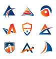 business corporate logo design template simple vector image