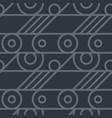 basic wheel mechanism seamless pattern vector image