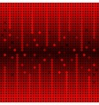 Sound waves background vector image