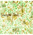 Seamless grungy background with forget-me-not vector image vector image