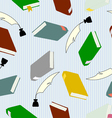 hardcover books vector image