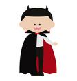 Cute Dracula Vampire vector image