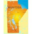 Manitoba vector image