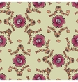 Abstract berries floral seamless pattern vector image