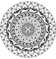 Mandala ornamental vector image