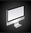 monitor computer technology device screen vector image