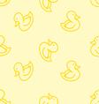 Ducks background vector image