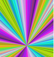 Colorful ray burst background - design vector image