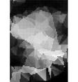 Grunge halftone background rectangular A4 size vector image