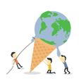 saveworld vector image